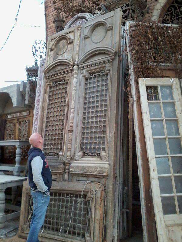 Antique French Door 550cm